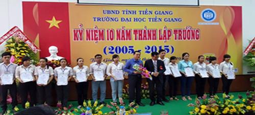 Trường Đại học Tiền Giang – Kỷ niệm 10 năm thành lập