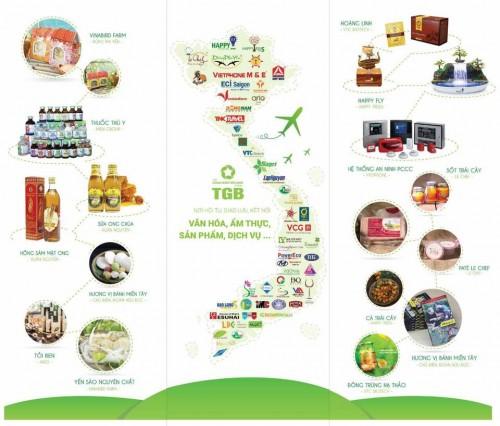 TGB tham gia Hội chợ quốc tế Nông Sản và Thực Phẩm VN