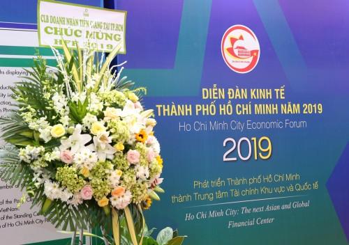 THAM DỰ DIỄN ĐÀN KINH TẾ TP.HCM 2019 – HFF 2019