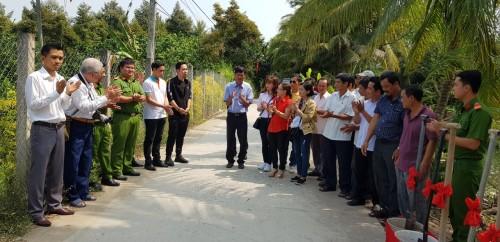 TGB tham dự Lễ khởi công xây dựng cây cầu Kênh Ngang – ấp Quý Chánh – xã Nhị Quý